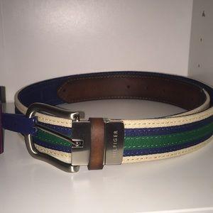 Tommy Hilfiger Men's Reversible Belt Size M 34-36